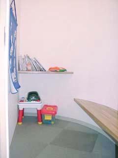 小児感染隔離待合室